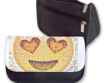 Emoji LOVE pencil case / Make-up bag