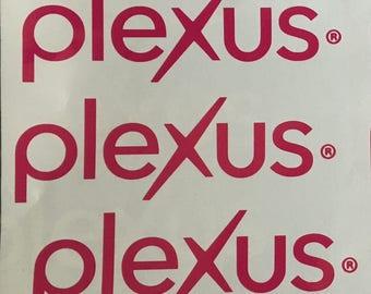 Plexus Decals & Monograms