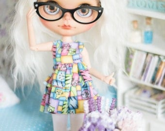 Blythe eyeglasses *cat eye* glasses eyewear. frame only or with clear glass