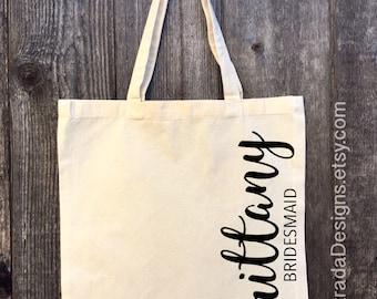 Bridal Tote, Bride Bag, Bridesmaid Tote, Bridesmaid Bag, Personalized Tote, Bachelorette Tote, Wedding Tote, Personalized Bag, Wedding Party