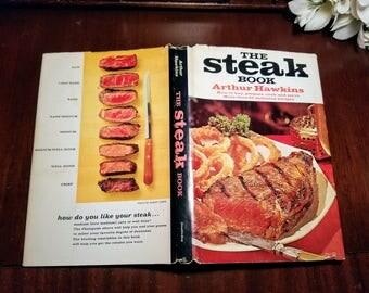 The Steak Book by Arthur Hawkins Mid-Century Modern Cookbook