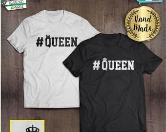 T-shirt #Queen