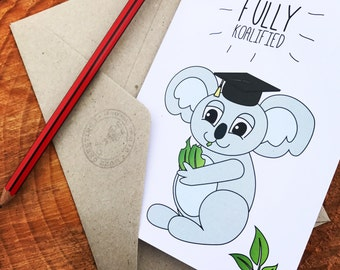 Fully Koalified! DIGITAL / PRINTABLE Card
