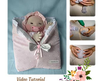 PDF PATTERN Baby Educational Puppet