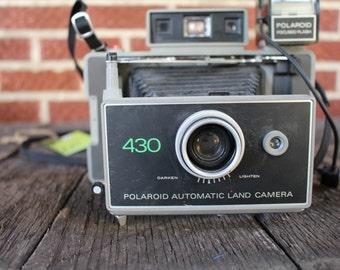 Polaroid 450 Land camera
