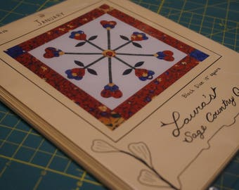 Flowers for all Seasons Pattern: Laura's Sage Country Quilts