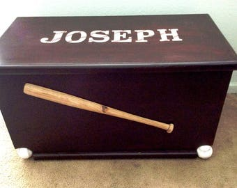 Toy Chest Baseball 3D Theme  Personalize!