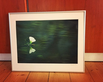 Fine Art Print / The Flower on the Lake // 60 x 80cm