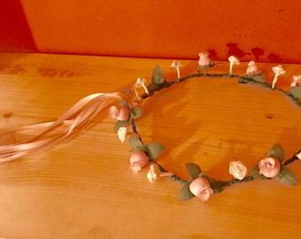 Little Girl 's Dress Up Flower Crown