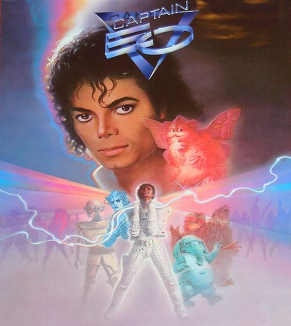 Michael Jackson Captain Eo The Movie 1986 DVD Very Rare