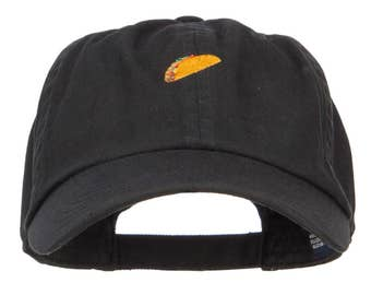 Mini Taco Embroidered Low Cap