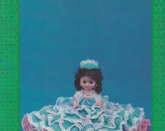Lila, Td Creations Crochet Bed Doll Clothes Pattern Booklet TD-805