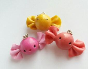 Kawaii treats: polymer clay cute charms