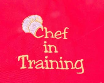 Child- young adult cookery apron 8 years +