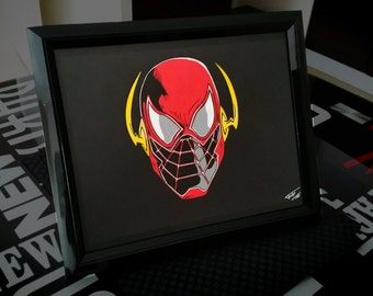 Print Crossover Spider-Flash