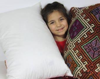 """10x20 pillow insert pillow inner pillow form pillow insert 10""""x20"""" kilim pillows stuffing floor pillow insert turkish pillow 25x50cm"""