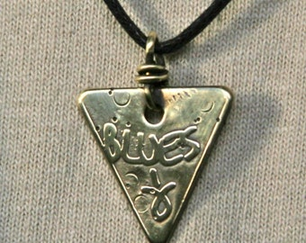 Blues 'Arrowhead' Pendant