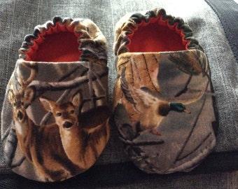 Baby Camo Slippers