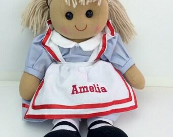 Personalised Alice Rag Doll