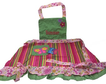 Personalised Childrens Butterfly Apron