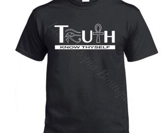 TRUTH shirt, pan african shirt