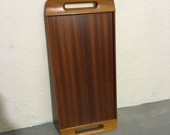 Digsmed mid century teak wood tray