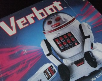 Tomy Verbot Robot (No.5401) 1984 vintage boxed