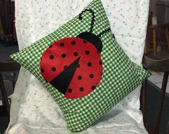 Ladybug Cushion Cover