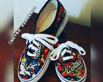 Be the Wonder custom shoes