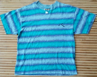 Vtg RUSTY Stripes T-Shirt Made In USA