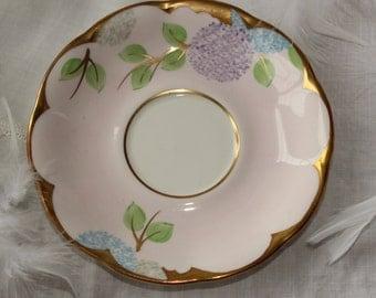 Royal Albert ''Hydrangea'', England: Orphan pink saucer