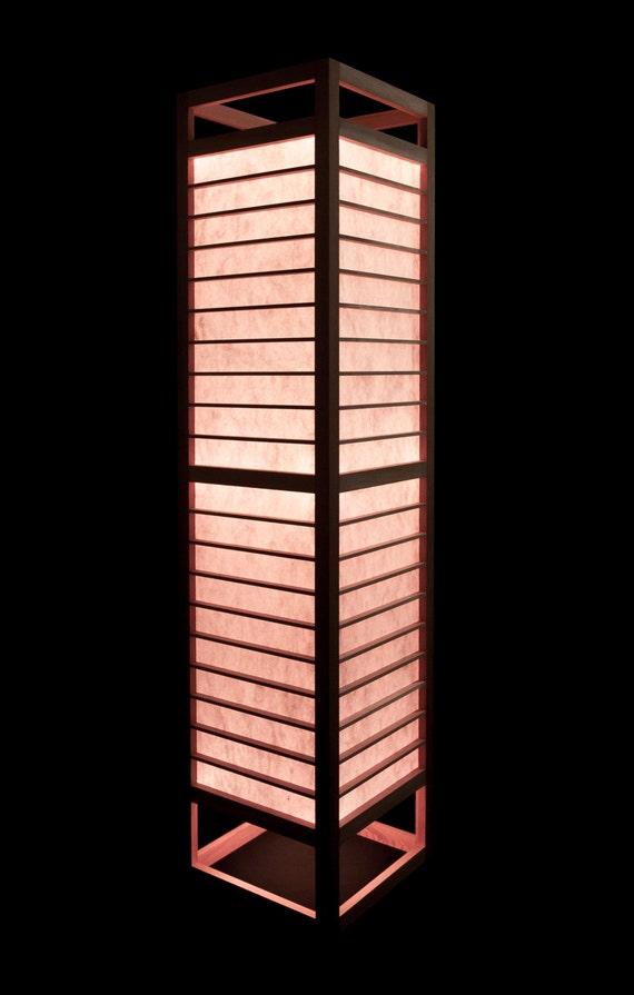 tesseract shoji floor lamp