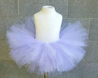 Daisy duck inspired tutu Halloween lavender and white tutu fairy tutu birthday tutu flower girl tutu costume tutu photo prop smash cake