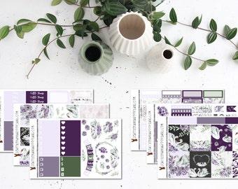 Swan || Weekly Sticker Kit (100+ Planner Stickers) || Erin Condren, Happy Planner, Recollections, No White Space || SeattleKangarooPlans