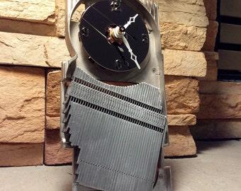 Heat Sink and Hard Drive Platter Clock