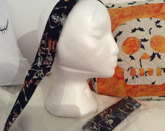 Day of the dead hairband 40""