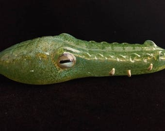 Glass Gator Head Pipe
