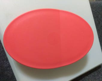 TUPPERWARE PITCHER LID # 3334-A-4  Peach  ( orange to me)