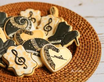 Music Sugar Cookies