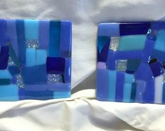 fused glass coasters C3