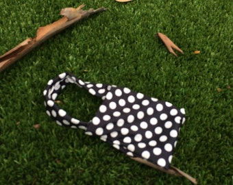 Black Polka-dot purse