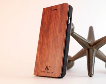 iPhone 6/S Wallet Case | iPhone 6 Case | All Wood Wallet Case | Men's Gift | Boyfriend Gift | Groomsman Gift | iPhone 6 Plus Case Wood Case