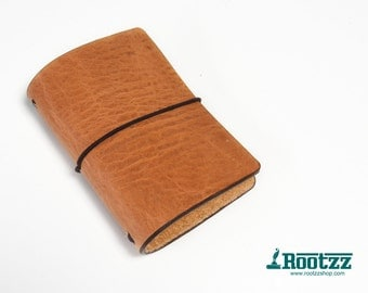 Passport Traveler's notebook cognac - midori like- fauxdori