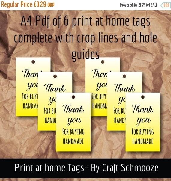 yellow, printable, handmade tags, handmade labels, gift tag, digital download, printable gift tag,