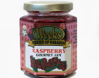 Raspberry Jam, Gourmet - Utah's Own, Preserves, Jelly, Marmalade