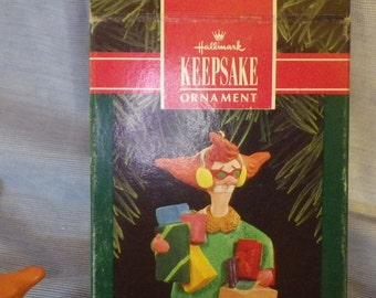 Hallmark Keepsake ornament Spirit of Christmas Stress