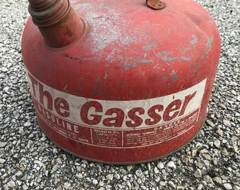 Vintage Eagle The Gasser gas can