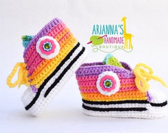 Crochet Conversecrochet Shoes