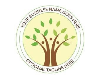 Family Tree Logo - Family logo - Counseling logo - Premade logo design - Logo design - Tree logo
