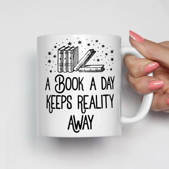 Book Lover Mug Book Lover Gift Coffee Mugs With Sayings